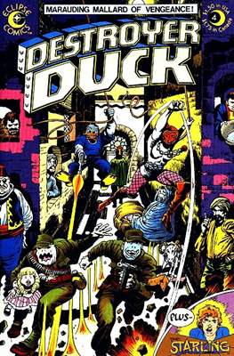 Destroyer Duck (Comic Book. 1982) #4