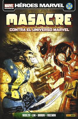 Masacre. Contra el universo Marvel