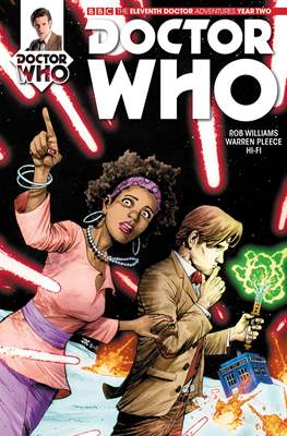 Doctor Who: The Eleventh Doctor Year Two (Comic Book) #4