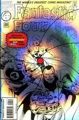 Fantastic Four Vol. 1 (1961-1996) (saddle-stitched) #400