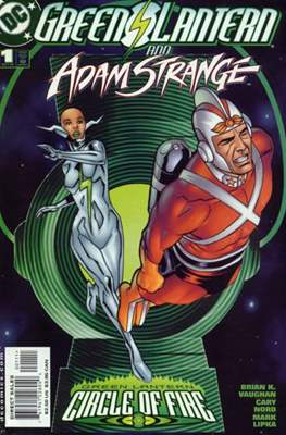 Green Lantern and Adam Strange - Circle of Fire