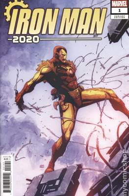 Iron Man 2020 (2020- Variant Cover) #1.4