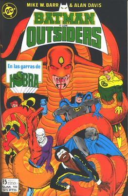 Batman y los Outsiders / Los Outsiders (1986-1988) (Grapa, 34 páginas) #19