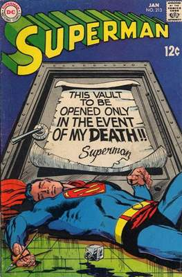 Superman Vol. 1 / Adventures of Superman Vol. 1 (1939-2011) (Comic Book) #213