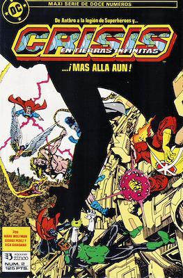 Crisis en Tierras Infinitas (1987) (Grapa. 32 páginas. Color.) #2