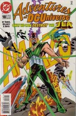Adventures in the DC Universe (comic grapa usa) #18