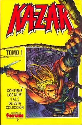 Ka-Zar (1998-1999) (Retapado) #1