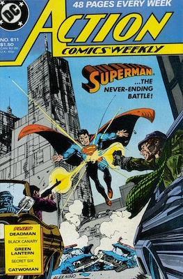 Action Comics Vol. 1 (1938-2011; 2016-) (Comic Book) #611