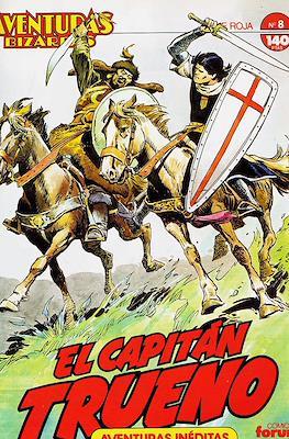 Aventuras Bizarras. El Capitán Trueno. Serie Roja (Grapa, 28 páginas) #8