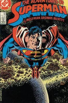 Superman Vol. 1 / Adventures of Superman Vol. 1 (1939-2011) (Comic Book) #435