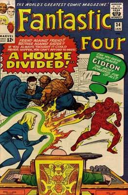 Fantastic Four Vol. 1 (1961-1996) (saddle-stitched) #34