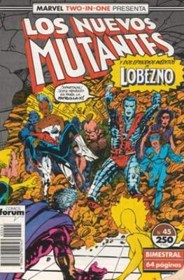 Los Nuevos Mutantes Vol. 1 (1986-1990) (Grapa 32-64 pp) #45