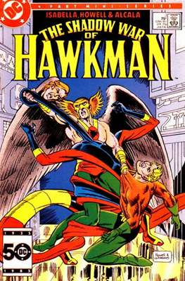 The Shadow War of Hawkman (Comic book) #3