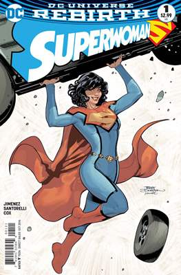 Superwoman (2016-2018) #1.2