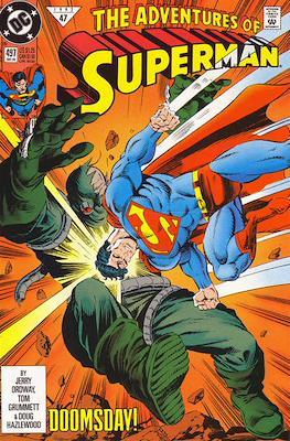 Superman Vol. 1 / Adventures of Superman Vol. 1 (1939-2011) (Comic Book) #497