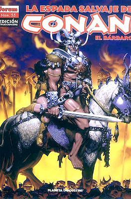 La Espada Salvaje de Conan el Bárbaro. Edición coleccionistas (Rústica. 64 páginas. B/N. (2005-2008).) #55