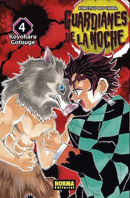 Guardianes de la noche (Kimetsu no Yaiba) (Rústica) #4