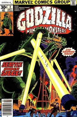 Godzilla King of the Monsters (Grapa) #2