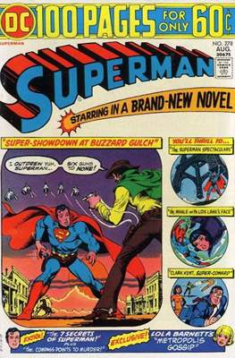 Superman Vol. 1 / Adventures of Superman Vol. 1 (1939-2011) (Comic Book) #278