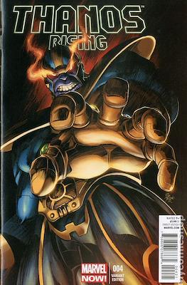 Thanos Rising (Variant Cover) (Comic Book) #4