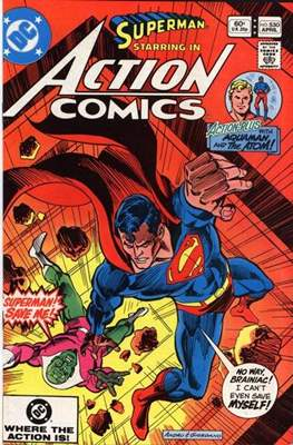 Action Comics Vol. 1 (1938-2011; 2016-) (Comic Book) #530