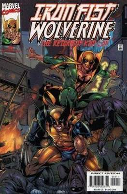 Iron Fist: Wolverine - The Return of K'un Lun (Comic Book) #2