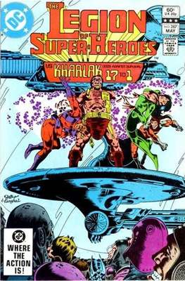 Legion of Super-Heroes Vol. 2 (1980-1987) #287