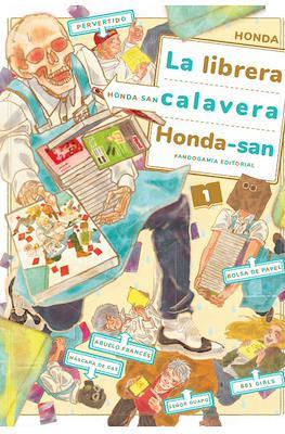 La librera calavera Honda-san (Rústica 164 pp) #1