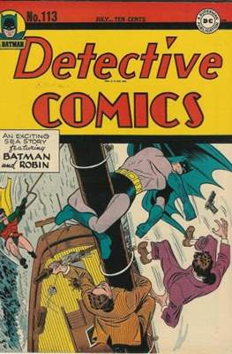 Detective Comics Vol. 1 (1937-2011; 2016-) (Comic Book) #113