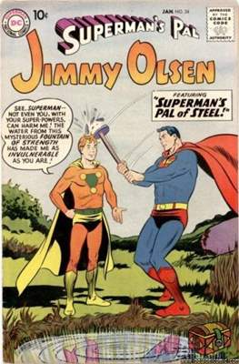 Superman's Pal, Jimmy Olsen / The Superman Family (Comic Book) #34