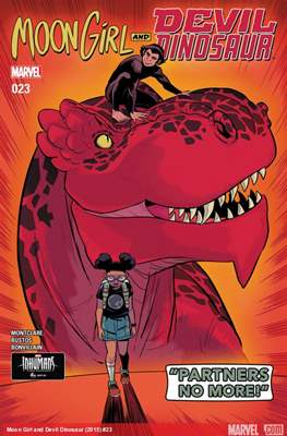 Moon Girl and Devil Dinosaur (Comic-book) #23
