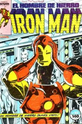 Iron Man Vol. 1 / Marvel Two-in-One: Iron Man & Capitán Marvel (1985-1991) (Grapa, 36-64 pp) #23
