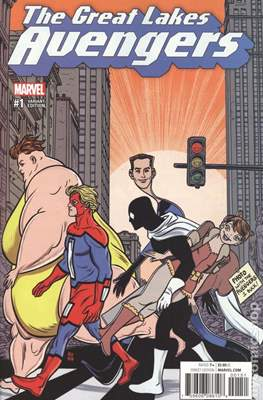 The Great Lakes Avengers Vol. 2 (Variant Covers) #1.3