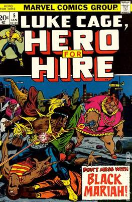 Hero for Hire / Power Man Vol 1 / Power Man and Iron Fist Vol 1 #5