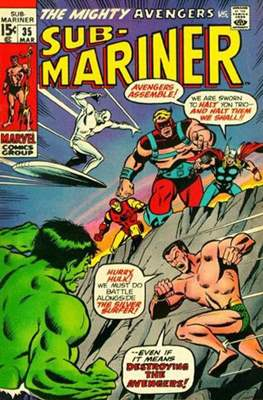 Sub-Mariner Vol. 1 (Grapa) #35