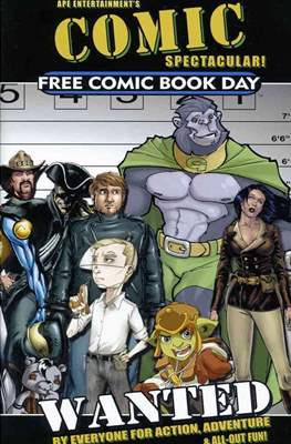 Wanted Free Comic Book Day