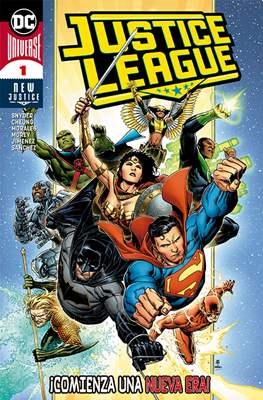 Justice League: New Justice (2019-) (Grapa) #1