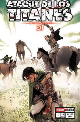 Ataque de los Titanes (Rústica) #20