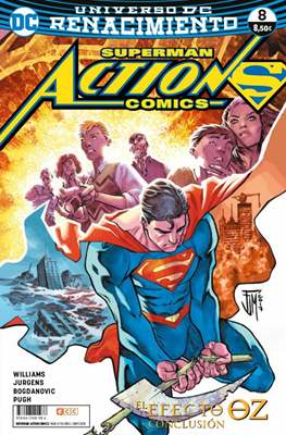 Superman: Action Comics. Renacimiento (Rústica 96 pp) #8