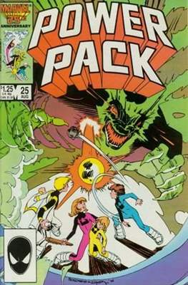 Power Pack (1984-1991; 2017) (Grapa) #25