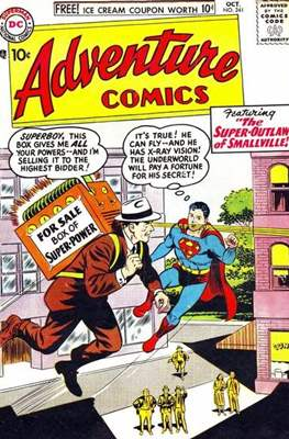 New Comics / New Adventure Comics / Adventure Comics (1935-1983 ; 2009-2011) (Comic Book) #241