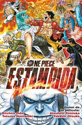One Piece: Estampida (Rústica con solapas) #