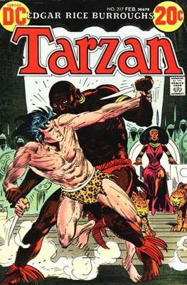 Tarzan (Comic-book) #217