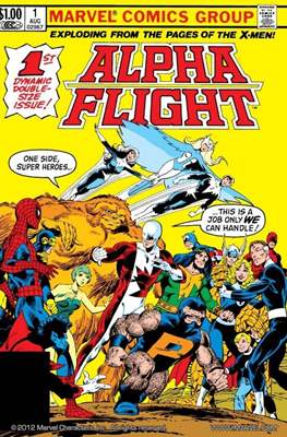 Alpha Flight (Vol. 1 1983-1994)