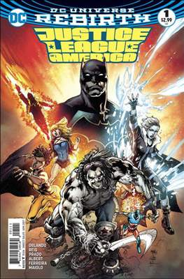 Justice League of America Vol. 5 (2017-2018)
