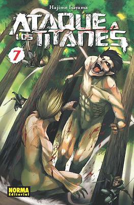 Ataque a los Titanes (Rústica con sobrecubierta) #7