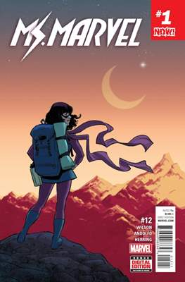 Ms. Marvel (Vol. 4 2015-...) (Comic book) #12