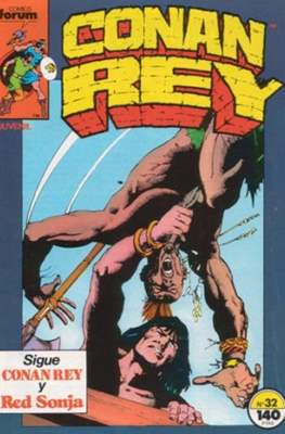 Conan Rey (Grapa. 32 páginas.) #32