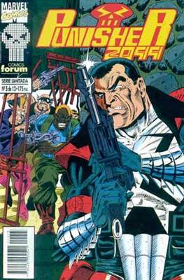 Punisher 2099 (1994-1995) (Grapa. 17x26. 24 páginas. Color.) #5