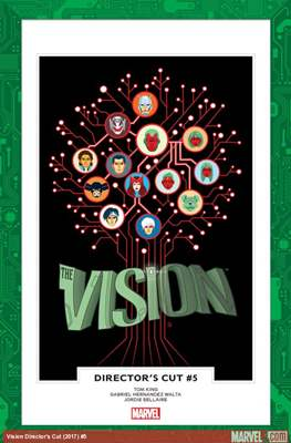 The Vision Director's Cut (Comic Book) #5